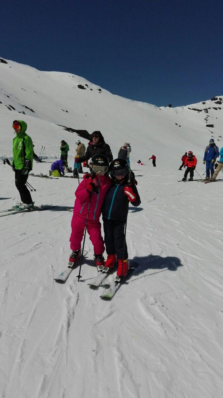 Clases de esquí Sierra Nevada