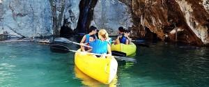 Canoas pantano de canales Güejar aventura