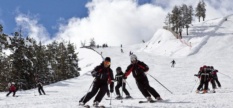 Escuela de esquí en Sierra Nevada