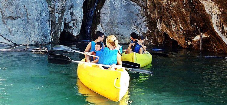 Alquiler de canoas con Güejar Aventura